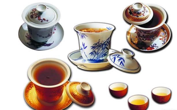 四川会说话的盖碗茶